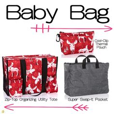 Keep those baby bags organized! Thirty One Organization, Organizing Utility Tote, Bag Organization, Thirty One Baby, Thirty One Gifts, Thirty One Facebook, Thirty One Consultant, 31 Gifts, 31 Bags