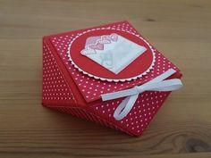 Diamantbox mit dem Punchboard für Geschenktüten   Stampin' Up! - YouTube