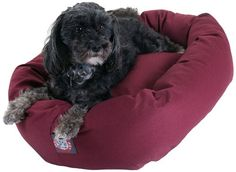 24 inch Burgundy Bagel Dog Bed By Majestic Pet Products For Sale https://birdhousesforoutside.info/24-inch-burgundy-bagel-dog-bed-by-majestic-pet-products-for-sale/