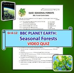 planet earth fresh water video questions quiz combo editable david attenborough. Black Bedroom Furniture Sets. Home Design Ideas