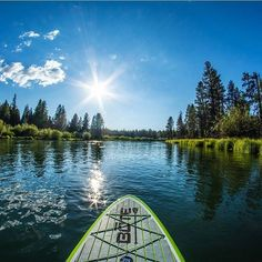 SUP with you? Check out the inflatable BOTE Paddle Board in person at our brick-and-mortar for a simple solution to storing a stand up paddle board with minimal space.  @djaffe  #SUP #snowwaterland #bend #exploreoregon #paddleboard #pnwonderland #pnw #usoutdoor