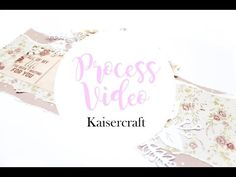 forever layout by anita Bownds kaisercraft - YouTube