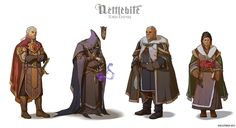 Torn Empire costumes by *Hellstern on deviantART