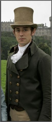 JJ Feild as Henry Tilney, Northanger Abbey BBC 2007.  Not particularly awkward looking, but he needed to be on this board.