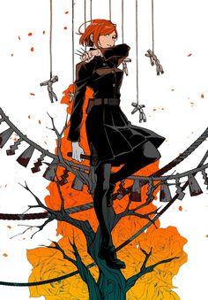 Nobara Kugisaki | Jujutsu Kaisen Character Design References, Character Art, Dark Fantasy, Manga Anime, Anime Art, Thriller, Otaku, Anime Crossover, Fan Art