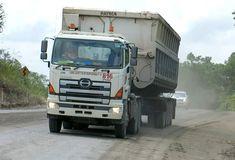 China Hong Kong, Dump Truck, North Korea, Brunei, Cambodia, Laos, Thailand, Asia, Trucks