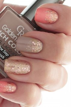 Art Design Ideas to Give You Amazing Fall This Year Flirty Spring Nail Art Ideas for Nail Polish Addicts.Flirty Spring Nail Art Ideas for Nail Polish Addicts. Fall Nail Art Designs, Cute Nail Designs, Awesome Designs, Pretty Designs, Pedicure Designs, Coral Nail Designs, Glitter Nail Designs, Jolie Nail Art, Nagellack Design