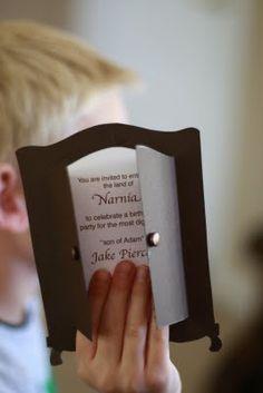 Narnia invitation