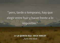 La quinta ola. Rick Yancey