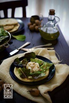 Ecco le mie piadine homemade con uovo poché e noci tritate! Provatele! http://cosefatteincasa.it/2016/11/10/piadine-homemade-uovo-poche-noci/
