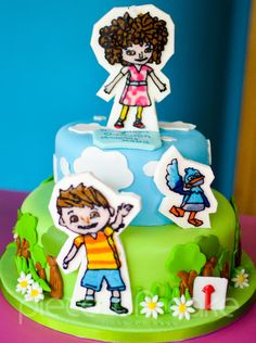 Zack And Quack Cake on Cake Central Cupcake Cakes, Cupcakes, Cake Central, Fresh Cream, Buttercream Cake, Diabetic Recipes, Fondant, Cake Decorating, Projects To Try