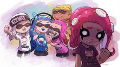 Splatoon Memes, Splatoon Comics, Nintendo 3ds, Wii U, Xbox 360, Otaku, Callie And Marie, Magnum Opus, Gamers