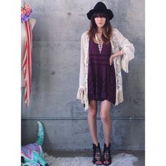 Voile and Lace Slip styled by mskeeks #freepeople #fpme
