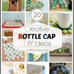 20 Creative Bottle Cap Crafts