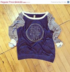 last chance // great love . Slouchy Pullover by greythread on Etsy, $37.40
