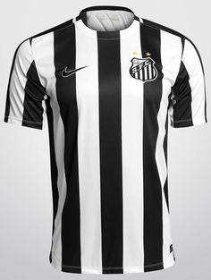 18159d4727bca Santos FC Away Jersey Nike 2015 Soccer Football Maillot Maglia Trikot Brazil