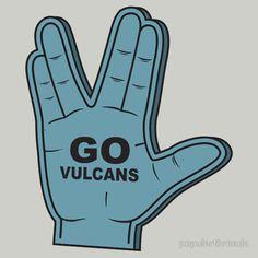"""Go Vulcans"" T-Shirts & Hoodies by popularthreadz | Redbubble"