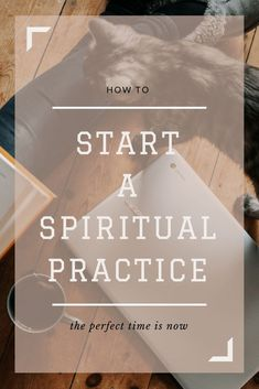 We all start with good intentions, we want to deepen our connection to God (the Universe, the Divine) but we don't know where to start or how to make it all fit into our crazy lives. Click through for solid practical advice for choosing a spiritual practice and making it actually stick! #spirituality #spiritualpractice