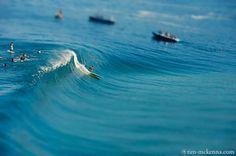 Tilt-shift photos of Teahupo'o, Tahiti - Tim Mckenna