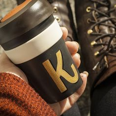 Finally went and got my own keep cup. And made sure it coordinated with my outfit. Of course. Thanks @peoplescoffeenz Newtown for letting me play Lego with the different cups and for filling it with Wellingtons best coffee. #recycle @keepcup #sustainability #coffee #handlettered #handlettering #reuse #eco #alwayshandpaint #personalized #tactiletypography #surfacetype #handmadefont #lettering #type #typegang #goodtype #typelove #typespire #typematters #50words #typography #1shot