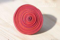 Большое красное кольцо – купить в интернет-магазине на Ярмарке Мастеров с доставкой - FC493RU