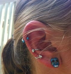 An example of the conch piercing I want, #conch #piercing #ear
