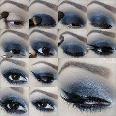 Passo a passo maquiagem chumbo com preto - Tudo Make – Maior blog de maquiagem, beleza e tutoriais de Curitiba.