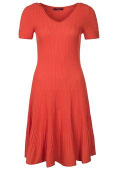 Laurel - Gebreide jurk - Oranje