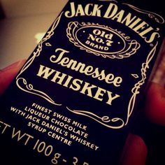 This is actually my picture, who knew it ended up on Pinterest?     Chocolate + Jack Daniels, bought it in the Dominican Republic. Best purchase ever.
