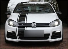 Auto Sticker Car Decal Sports Racing Stripe for Golf 6, New Polo, GTI Golf 6 -in Stickers from Automobiles & Motorcycles on Aliexpress.com