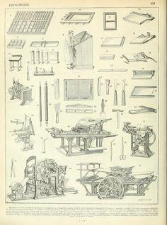 Nouveau Larousse illustré : Imprimerie