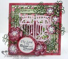 Heartfelt Creations | Arianna Blooms Gate Card