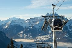 Villars ski © STAUB www. Snowboarding, Skiing, Ski Lift Chair, Geneva Airport, Outdoor Wicker Chairs, Ski Holidays, Old World Charm, Winter Landscape, Holiday Travel