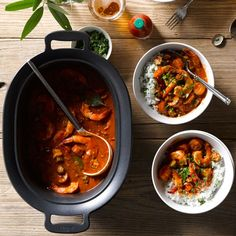 Spicy Slow-Cooker Gumbo