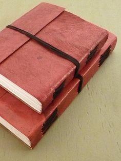 Beautiful handmade notebooks