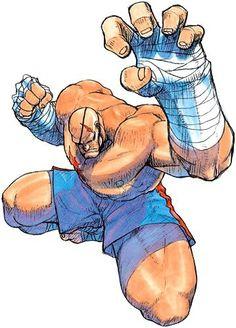 Sagat - Street Fighter Art