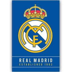 Real Madrid Crest 1902 Poster