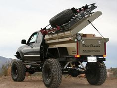 Adventure Trailer with modifications for a body mount...Awesome!