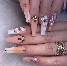 Nail Mania, Acylic Nails, Acrylic Nail Designs, Manicure, 3d, Beauty, Ideas, Feet Nails, Nail Bar