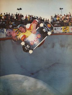Steve Olson, Big O, 1980 #Skateboarding