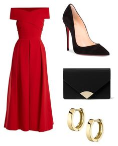 Untitled #76 by fashkion on Polyvore featuring polyvore, fashion, style, Preen, Christian Louboutin, MICHAEL Michael Kors and clothing