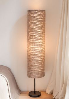 Crochet Lamp, Lampshades, Floor Lamp, Light Fixtures, Diy Home Decor, Decoration, Design, Ideas, Craftsman Chandeliers