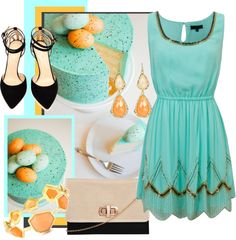 """Piece of Cake - Speckled Egg"" by hcc71 ❤ liked on Polyvore"