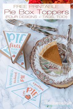 Free Printable Pie B