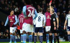 Kieran Richardson ściął równo z trawą w Premier League • West Bromwich Albion vs Aston Villa • Wejdź i zobacz faul Richardsona >>