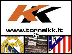 REAL MADRID - ATLETICO MADRID  www.torneikk.it  #torneikk