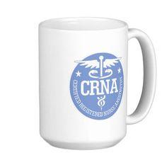 Caduceus CRNA gift ideas Coffee Mug
