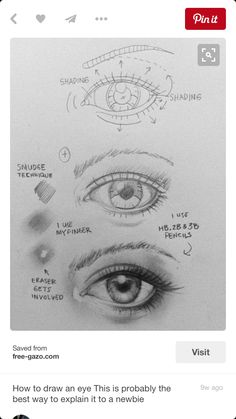 Eye sketch pencil life ideas for 2019 Eye Drawing Tutorials, Sketches Tutorial, Eye Tutorial, Drawing Tricks, Pencil Sketch Drawing, Eye Sketch, Pencil Drawings, Drawing Eyes, Water Drawing