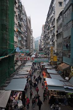 Hong Kong street vendors by clustertheory, via Flickr