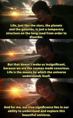 Ignorance, Brian Cox, Pantheism, Text Pictures, Science And Nature, Consciousness, Type 1, Life Lessons, Quotes To Live By